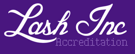 The LASHacademy is now accredited with Lash Inc