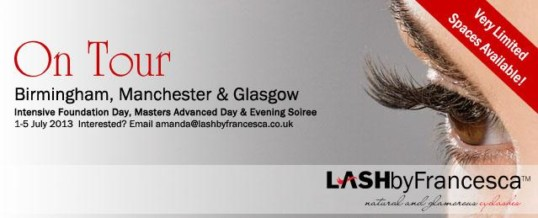LASHacademy on Tour!